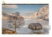 Frozen Lake Ogwen Carry-all Pouch