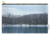 Frozen Mountain Lake Carry-all Pouch