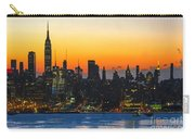 Frozen-new York At Dawn  Carry-all Pouch