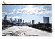 Frozen Philadelphia Cityscape Carry-all Pouch