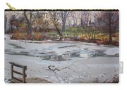 Frozen Pond Carry-all Pouch