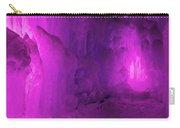 Frozen Purple Rain Carry-all Pouch