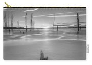 Frozen Sunrise Bw Carry-all Pouch