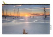 Frozen Sunrise Carry-all Pouch