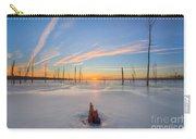 Frozen Sunrise V2 Carry-all Pouch