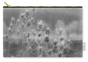 Frozen Teasel Carry-all Pouch