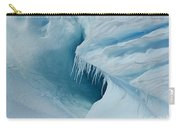 Frozen Turquoise Wonder... Carry-all Pouch