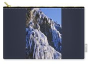 Frozen Waterfall On Oregon Central Coast Carry-all Pouch