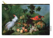 Fruit And Birds Carry-all Pouch