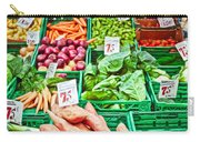 Fruit And Vegetable Stall Carry-all Pouch