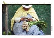 Fruit And Vegetable Vendor Cuenca Ecuador Carry-all Pouch