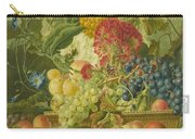 Fruit Flowers And Dead Birds Carry-all Pouch