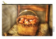 Fruit - Fresh Peaches  Carry-all Pouch by Mike Savad