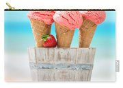 Fruit Ice Cream Carry-all Pouch