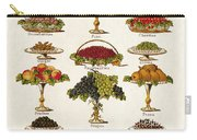Fruit Lovers Panel 1888 Carry-all Pouch