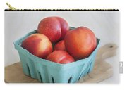 Fruit Stand Nectarines Carry-all Pouch