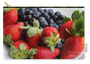 Fruit - Strawberries - Blueberries Carry-all Pouch