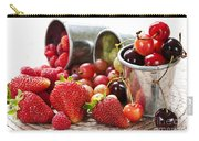 Fruits And Berries Carry-all Pouch by Elena Elisseeva