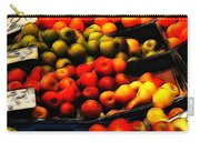 Fruits On The Market Carry-all Pouch