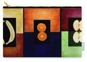 Fruity Triptych Carry-all Pouch