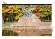 Fryderyk Chopin Statue In Warsaw Carry-all Pouch
