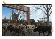 Ft Worth Trail Ride At Ft Worth Stockyard Carry-all Pouch