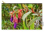 Fuchsia Along The Trail To Huayna Picchu-peru Carry-all Pouch