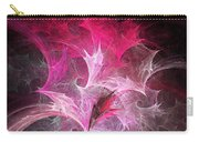 Fuchsia Fountain Abstract Carry-all Pouch by Andee Design