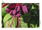 Fuchsia Named Roesse Blacky Carry-all Pouch