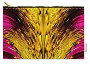 Fuchsia Sensation Abstract Carry-all Pouch