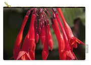 Fucshia Red Flower Carry-all Pouch