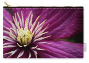 Full Bloom Clematis  Carry-all Pouch