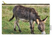 Full Grown Donkey Grazing Carry-all Pouch