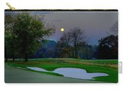 Full Moon At The Philadelphia Cricket Club Carry-all Pouch by Bill Cannon