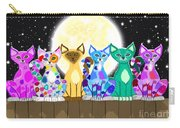 Full Moon Felines Carry-all Pouch