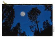 Full Moon In Yosemite Carry-all Pouch