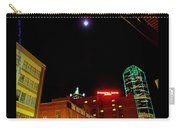 Full Moon Over Dallas Streets Carry-all Pouch