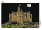 Full Moon Over Medieval Ruins Carry-all Pouch