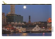 Full Moon Over Pioneer Square Carry-all Pouch