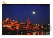 Full Moon Over Plaza Lights In Kansas City Carry-all Pouch