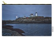 Full Moon Rise Over Nubble Carry-all Pouch