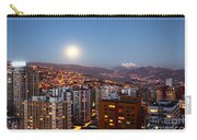 Full Moon Rising Over La Paz Carry-all Pouch