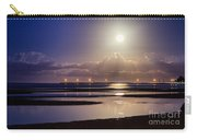 Full Moon Rising Over Sandgate Pier Carry-all Pouch