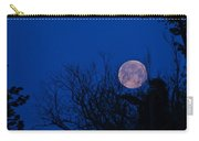 Full Moon With Trees Carry-all Pouch