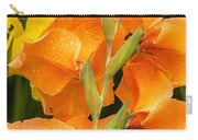Full Stem Gladiolus Carry-all Pouch