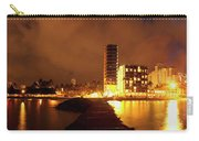 Full View Of Waikiki Beach At Night Carry-all Pouch