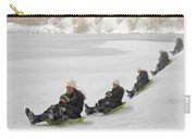 Fun In The Snow Carry-all Pouch by Susan Candelario