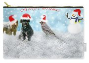 Fun Merry Christmas Card Carry-all Pouch