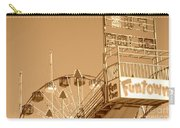Fun Slide Sepia Carry-all Pouch