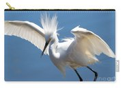 Fun Snowy Egret Carry-all Pouch